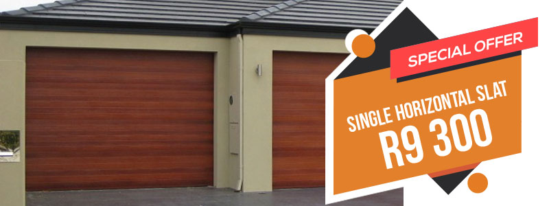 Garage door specials for Single garage cost