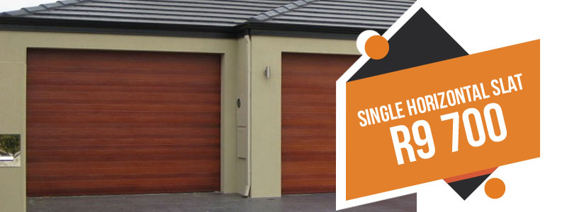 Garage door specials for Single car garage price