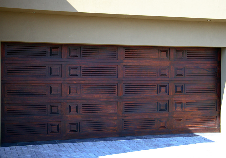 Bali Double Rightfit Garage Doors